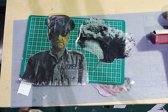 Image transfer demo pieces.