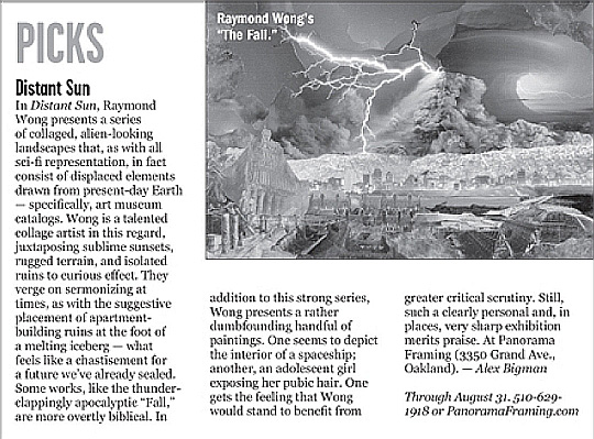 East Bay Express, August 14th, 2013 (pg. 22)