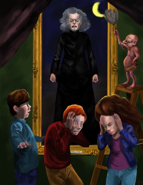 "Number Twelve Grimmauld Place, ""Harry Potter and the Order of the Phoenix"" Publication date August, 10th, 2004."