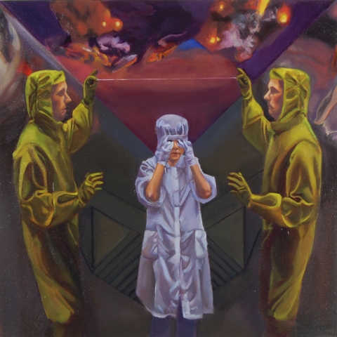 Inquisition 30x30 Oil on canvas 2014