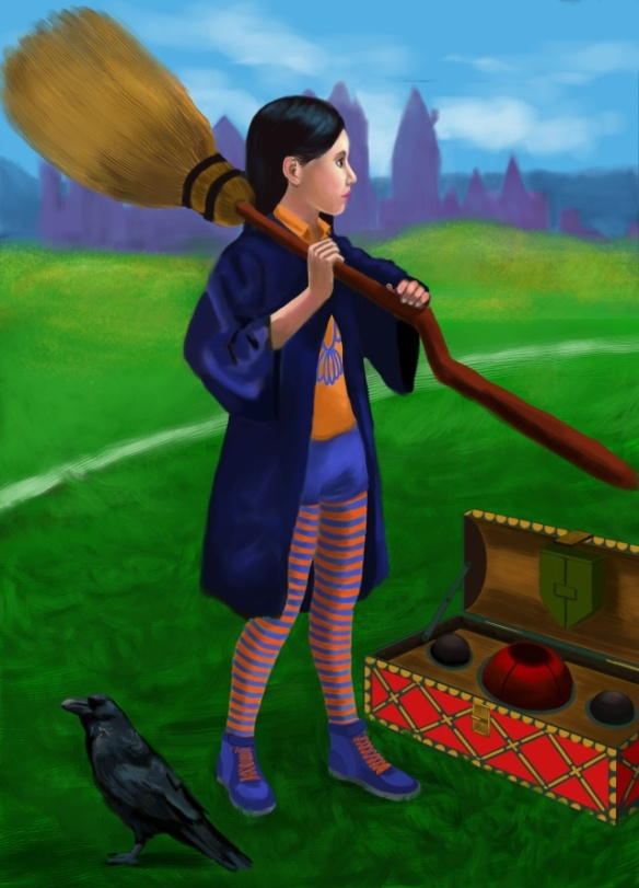 "Cho Chang from "" Harry Potter and the Prisoner of Azkaban"" by J.K. Rowling, 2003"